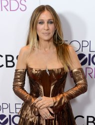 Sarah Jessica Parker backstage at the People's Choice Awards in Los Angeles