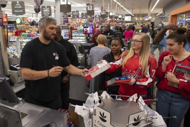 Alexander Ovechkin Launches His Own Cereal in Washington