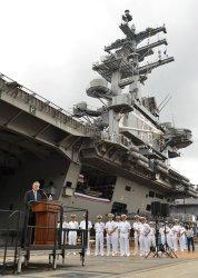 USS Ronald Reagan arrives in Yokosuka
