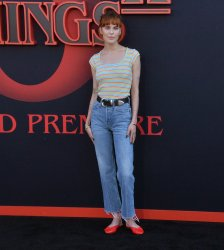 "Tallulah Willis attends the ""Stranger Things 3"" premiere in Santa Monica, California"