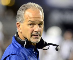 Indianapolis Colts Head Coach Chuck Pagano in Pittsburgh