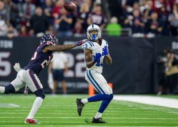 Colts wide receiver T.Y. Hilton makes a catch