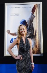 "Kelly Jackle attends the ""42"" premiere at in Los Angeles"