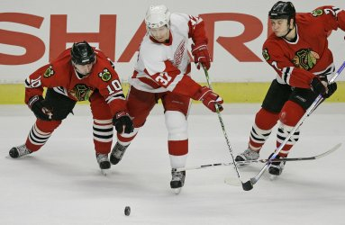 DETROIT RED WINGS VS CHICAGO BLACKHAWKS