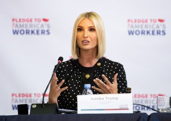 Ivanka Trump leads a American Workforce Policy Advisory Board Meeting