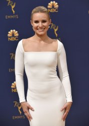 Kristen Bell attends the 70th annual Primetime Emmy Awards in Los Angeles