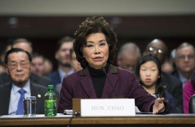 Elaine Chao Transportation Secretary Confirmation Hearing in Washington, D.C.
