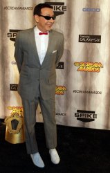 Paul Reubens arrives attends Spike TV's Scream Awards in Los Angeles