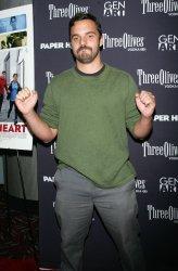 "Jake Johnson arrives at the Gen Art Screening of ""Paper Heart"" in New York"