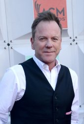 Kiefer Sutherland attends the 51st  annual Academy of Country Music Awards in Las Vegas