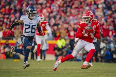 Tennessee Titans vs Kansas City Chiefs in the AFC Championship.