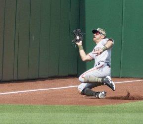 San Francisco Giants Mike Tauchman Makes Sliding Catch
