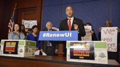 Congressional Democratic leaders urge renewal of unemployment insurance benefits
