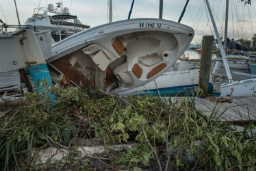 South Florida Starts To Clean Up