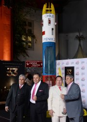 """Chilean miners attend """"The 33"""" premiere in Los Angeles"""