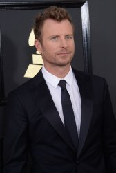Dierks Bentley arrives for the 59th annual Grammy Awards in Los Angeles