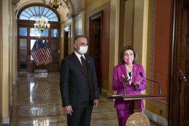 Speaker Pelosi Meets with Iraq Prime Minister Mustafa Al-Kadhimi at US Capitol