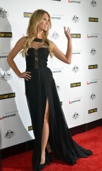 Delta Goodrem attends the 2012 G'Day USA Los Angeles Black Tie Gala