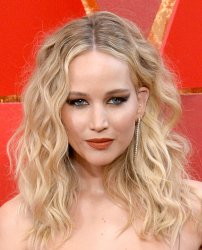 Jennifer Lawrence arrives for the 90th annual Academy Awards in Hollywood