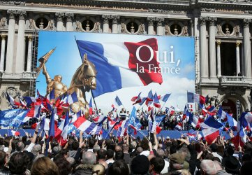 Far-right party rallies in Paris