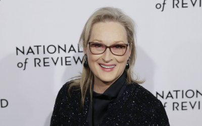 Meryl Streep arrives at The National Board of Review in New York