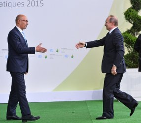 Putin Arrives at Opening of UN Climate Summit Near Paris
