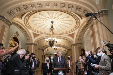 Senate Democrats Hold Weekly News Conference