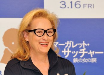 """""""The Iron Lady"""" press conference in Tokyo"""