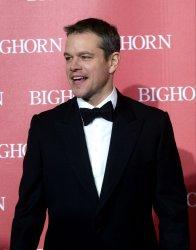 Matt Damon attends the Palm Springs International Film Festival in Palm Springs, California