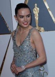 Daisy Ridley arrives for the 88th Academy Awards in Hollywood