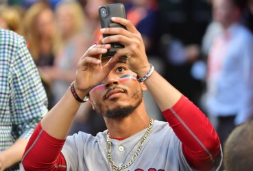 Red Sox outfielder Mookie Betts in MLB's All-Star Game in Washington, DC