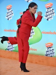 Lilly Singh attends Kids' Choice Awards 2019