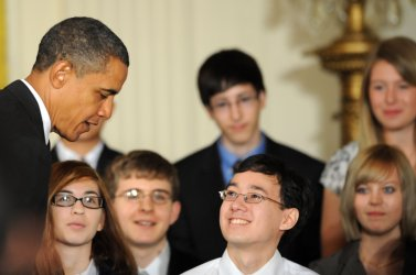President Obama holds a White House Science Fair in Washington