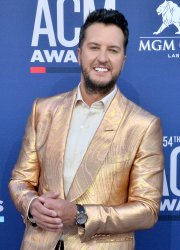 Luke Bryan attends the Academy of Country Music Awards in Las Vegas