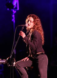 Vanessa Paradis performs in concert in Los Angeles