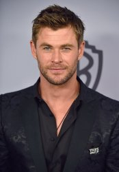 Chris Hemsworth attends Instyle/Warner Bros. Golden Globes party