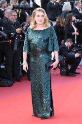 Catherine Deneuve attends the Cannes Film Festival