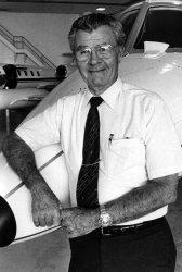 PAUL TIBETTS, PILOT OF THE ENOLA GAY
