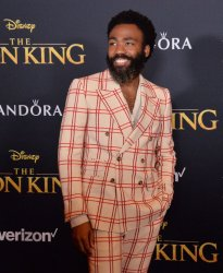 """Donald Glover attends """"The Lion King"""" premiere in Los Angeles"""