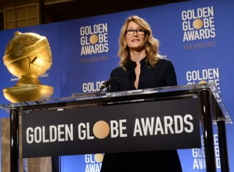 Laura Dern announces the nominees for the 74th Golden Globe Awards in Beverly Hils