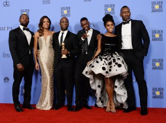 """""""Moonlight"""" wins award at the 74th annual Golden Globe Awards in Beverly Hills"""