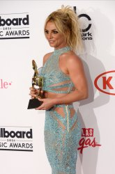 Singer Britney Spears, recipient of the Millennium Award at the Billboard Music Awards in Las Vegas