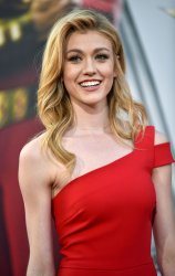 Katherine McNamara attends 'Shazam!' premiere in Hollywood