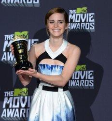 Emma Watson garners MTV Trailblazer Award at 2013 MTV Movie Awards in Culver City, California