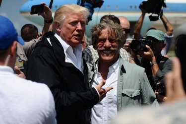 President Donald Trump Visits Puerto Rico to Assess Hurricane Maria Relief Efforts