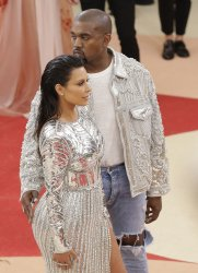 Kanye West and Kim Kardashian at the Met Costume Benefit