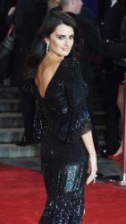 Penelope Cruz attends the world premiere of Murder On The Orient Express at Royal Albert Hall.