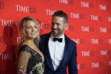 Blake Lively and Ryan Reynolds arrive at the TIME 100 Gala in New York