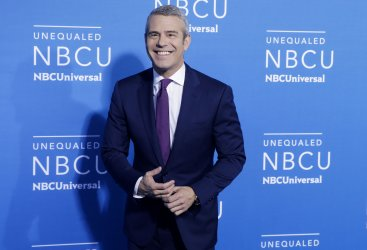 Andy Cohen at the 2017 NBCUniversal Upfront