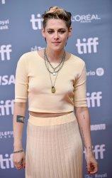 Kristen Stewart attends 'Seberg' photocall at Toronto Film Festival